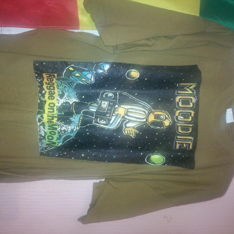 Reggae On The Moon tee shirt