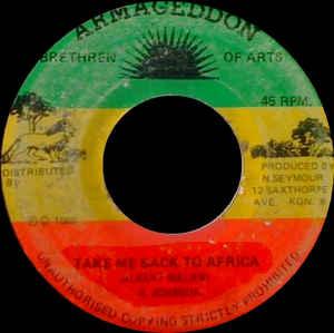 Albert Malawi - Take Me Back To Africa