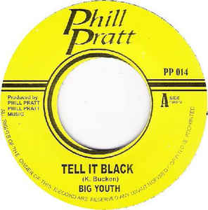 Big Youth - Tell It Black