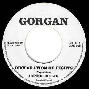 Dennis Brown - Declaration Of Rights