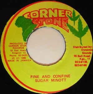 Sugar Minott - Fine And Confine